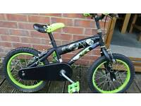 Boys ben 10 bike. Fully serviced at kesgrave mobile cycle repairs.