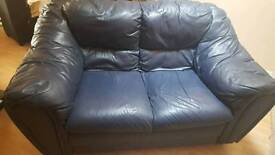 Navy blue 2 seater