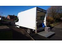 Knottingley Man and Van House Removal and Clearance Services, Luton Van and Two Men