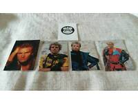 Set of Sting/ police autograph cards