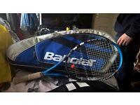 babolat tennis and bag
