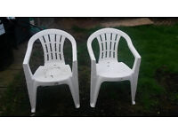 Garden Chairs x 2 ONLY 6 months only VGC - £10 for the pair SUNBURY