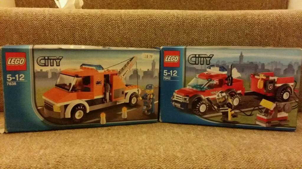 LEGO 7638/7842 CITY Tow Truck + Fire 4X4 Bundle | in Salisbury ...