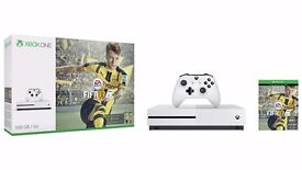 ** BRAND NEW XBOX ONE S WITH FIFA 17 - 1TB **