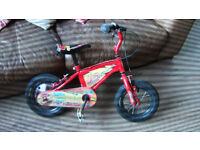 kids lightning McQueen bike