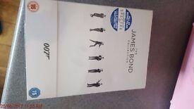 James Bond collection - 23 films dvd - sealed - new
