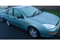 Ford Focus 1.6 manual, long MOT clean inside and outside £450