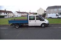 2004 Ford transit crewcab tipper for sale