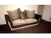 3 seater and swivel chair