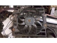 2001 BMW 520 318 518 525 DIESEL OR PETROL RADIATOR AND COOLING FAN