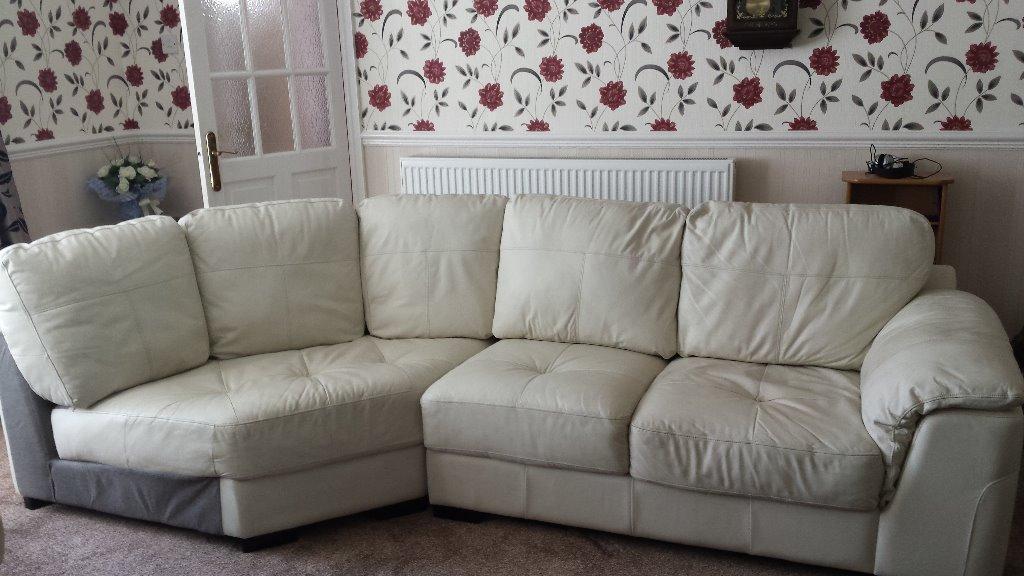 Leather corner sofa in Hull, East Yorkshire Gumtree