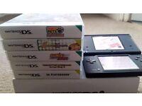 Nintendo ds black plus 58 games