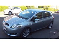 2008 58 Toyota Auris 1.6 VVT-i SR Service History Great Condition