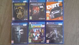 PS4 GAMES FOR SALE SEE DESCRIPTION FOR INDIVIDUAL PRICES