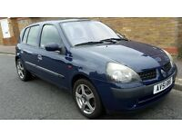Renault Clio 1.2. 80k miles,12 months MOT,FSH,5 door,well looked after,reliable, 3 lady owners