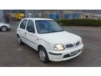 2000 (W Reg) Nissan Micra 1.0 Profile, Only 56K, Mot'd til 11/08/17 & 3 Months Warranty