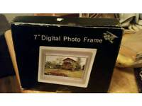 Brand new 7 in digital photo frame