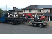 GROUNDFORCE EXCAVATIONS AND LANDSCAPING **** Mini Digger Hire with Operator from £150 per day****