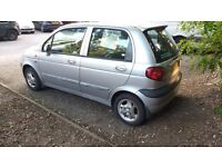 Daewoo matiz 1ltr £625 good first time car