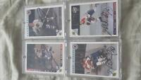 NHL legend authentic cards in mint condition
