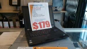 Lenovo T410i - 2.4Ghz i3 M370 - 4Gb RAM - 160Gb HDD - 1 Year Warranty - FREE Shipping Canada wide