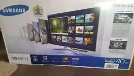 "Samaung 40"" Ultra Slim 3D Smart LED TV"