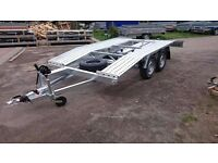 Car transporter trailer, recovery trailer new 13,12ft long, 6,5ft wide winch