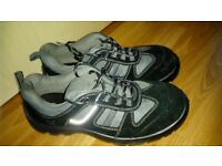 New men's leather safety shoe size 8