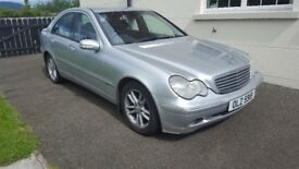 Mercedes C270- just out of MOT/ stock car/ breaking car parts