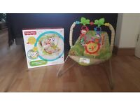 Fisher Price Rainforest Friends Bouncer baby chair
