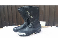 TCX MOTORCYCLE BOOTS SIZE 9
