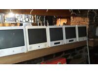 FREE 7 Mac computers and 3 Flat screens Free