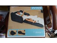 Intex inflatable chair - converts to airbed - brand new