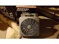 Vango Camping Fan with power adapter