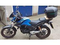 2014 Lexmoto zsx 125cc motorcycle