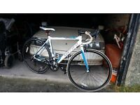 48 cm road bike carrera virtuoso 16 speed