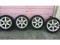 "15"" Multi fit 4&5 stud wheels & tyres"