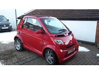 Smart fortwo brabus red edition
