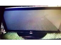 LG Wide-screen 42 inch HD TV plasma. Open to offers. Collect today cheap