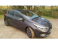 Kia Cee'd 1.6 CRDi 4 ISG 5dr (Idle, Stop and Go). Low mileage. Like new car.