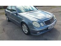 AUTOMATIC MERCEDES E270 CDI,EXCELLENT CONDITION,FULL LEATHER,LOW MILES,F.S.H FROM MAIN DEALER,px wlm