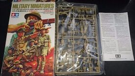 Tamiya military miniatures 1/35 British Eigth Army Infantry (Desert Rat)