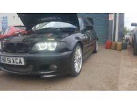 bmw e46 330i facelift 2001-2005 front headlights xenon angel lights full set complete rare cheap