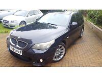 2005 BMW 520D M SPORT,CARBON BLACK METALLIC,2 KEEPERS FSH, STUNNING,NOT 525D 530D 535D S-LINE,A6 TDI