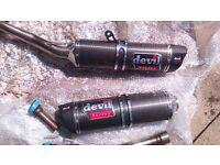 k7 gsxr 1000 carbon exhausts