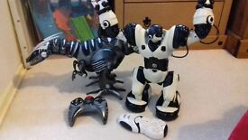 ROBORAPTOR AND ROBOSAPIAN, LARGE, ROBOTS , FOR BOTH £30