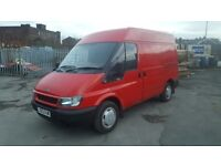 ford transit swb semi high roof in good condition inside and out