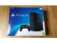 Boxed 1TB PS4 Pro Playstation 4