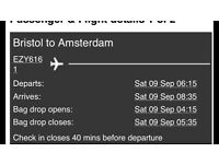 X2 flights Bristol to Amsterdam
