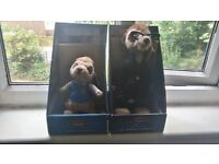 TWO COLLECTABLE MEERKAT TOYS FOR SALE